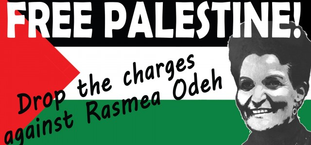 DROP THE CHARGES AGAINST RASMEA ODEH!  NYC Community Protest Monday, October 20 6:00 PM US Department of Homeland Security 26 Federal Plaza, NYC Facebook event: s://www.facebook.com/events/1493576454249135/ We stand in solidarity […]