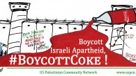 The United States Palestinian Community Network (USPCN) is stepping up its #BoycottCoke campaign with a protest of the Coca-Cola shareholders' meeting in Atlanta, Georgia, this Wednesday, April 29th. WHERE: Cobb […]