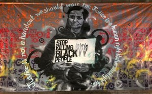 Rasmea stop killing black people