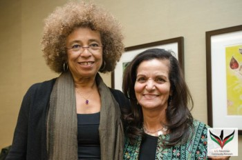Angela Davis and Rasmea Odeh at INCITE!